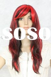 hot selling Wigs Synthetic human hair wigs white women