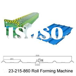 single sheet roof roll forming machine