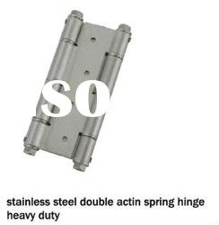 stainless steel double action sinkless hinge