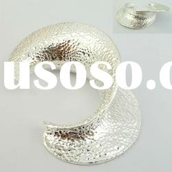 2012 Fashion and Simple Design Silver Cuff Bracelet Jewelry