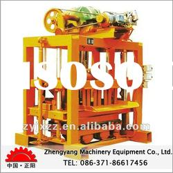 2012 Super quality and high output concrete brick making machine