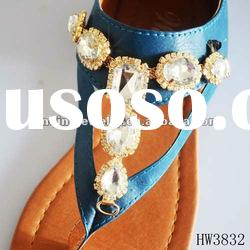 2012 new acrylic chain for lady sandal