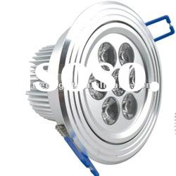 2012 new design high lumens dimmable high power 7W led downlight kit