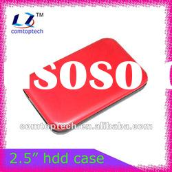 "2.5"" sata hard drive case/480Mbps external hard disk case/portable hdd enclosure/cover"