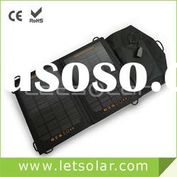 7W foldable solar pack for iPhone/iPad, no battery inside
