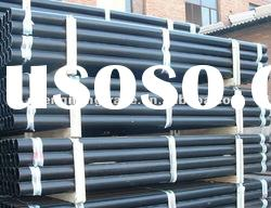 "ASTM A213 1/2"" ~ 40"" Q195,Q215 plain end black paint gas metallurgy carbon steel pipe"