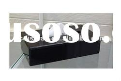 Black Acrylic Napkin Box