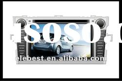 CAR DVD GPS TOYOTA HIGHLANDER 2012 with 7 inch touch screen and free Japanese map