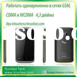 CDMA450mhz And GSM mobile phone with touch screen