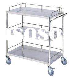 CE ISO Approved DR-318 Stainless Steel Medical Trolley