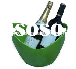 Cheers Plastic ice bucket/wine cooler/ice holder/ice carrier/ice keeper/ice pail/ice barrel cooler