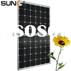 China supplier of 245W mono crystalline solar panel, PV module, for solar power plant