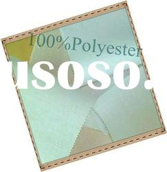 Double sided 100% polyester tricot fusible woven interlining fabric