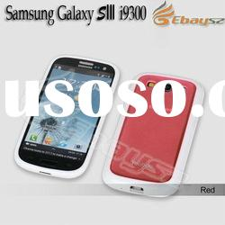 Hot selling Double Color Hard Back Case Cover for Samsung Galaxy SIII S3 i9300 LF-1395