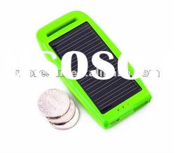 Hot selling Mini portable solar charger mobile phone