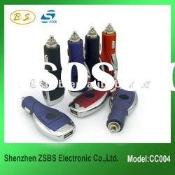 New and Luxury cell phone usb car charger