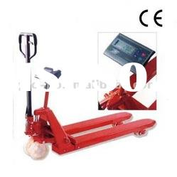 PR-SC 4.5 Ton hot selling Hand pallet truck with Weight Scale