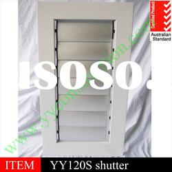 Powder coating aluminium sliding window shutter