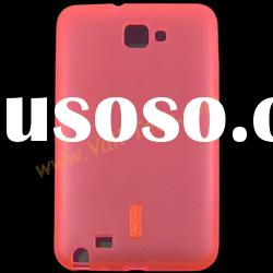 Red Soft TPU Skin Case Gel Cover Protector For Samsung Galaxy Note i9220