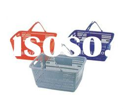 Shopping Plastic Basket with handle