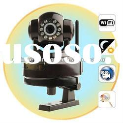 Wireless / Wired Night Vision IP cctv Camera with TF, Motion Detection Email Function