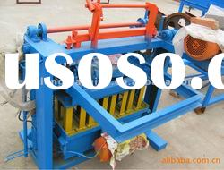 (for small home business) manual hollow block machine QTJ4-45