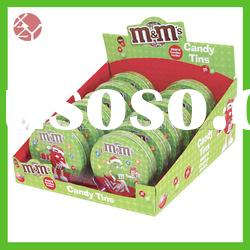 eco-friendly full printed durable heart shaped candy box