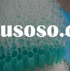 innocuous plastic polypropylene honeycomb core for sandwich panels bed frame in stock