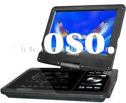 latest portable DVD player of 9 inch screen with TV function