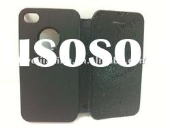 leather mobile phone case for apple iphone 4g 4s