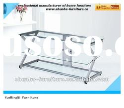 new simple design lcd tv table/tv stand V09-5