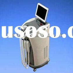 salon machine 808nm diode laser hair removal with E-Light and ipl
