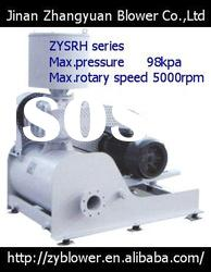 three lobes rotary high pressure roots rotary blower