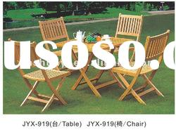 wicker rattan outdoor wooden furniture table and chairs