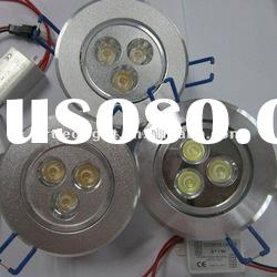 2012 CE RoHS high lumens 3W high power led downlight