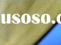 Colored(Yellow) cotton polyester denim fabric winter fashion