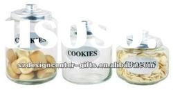 High quality glass storage jar for food and spice