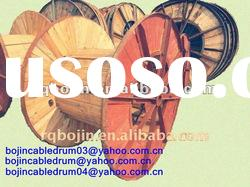 Pine wood cable drum for cable