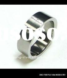 wholesale stainless steel diamond wedding ring