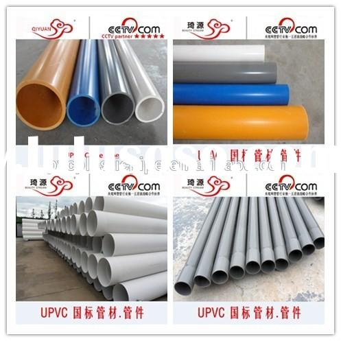 ISO DIN Standard PVC Conduit Pipe 500 for Water Supply/Drainage with Good Price