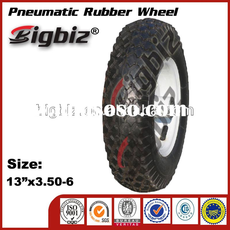 Super high quality cast iron rubber wheels for sale boat trailer