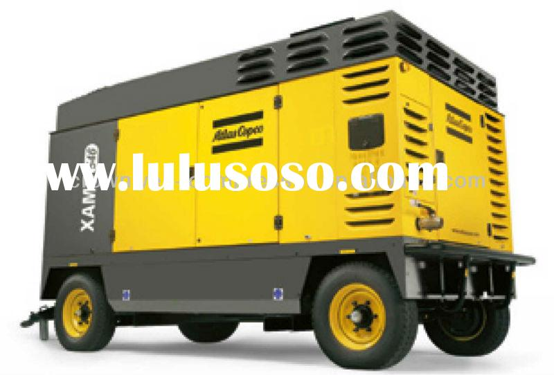 Atlas Copco Portable Air compressor(Atlas Copco mobile screw air compressor) AC Compressor Model XAM