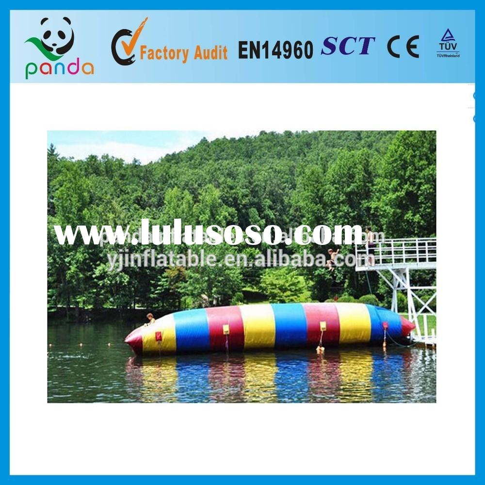 Exciting diving water blob jump games,inflatable water park toys,inflatable catapult tube