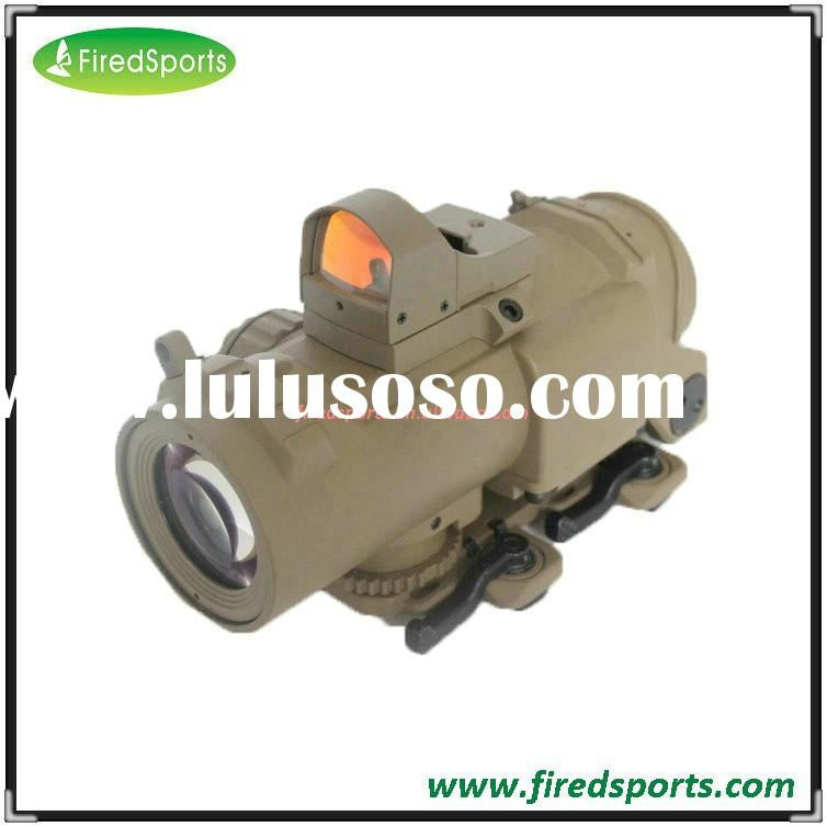 GSP0032--Hot Sell High Quality Airsoft 1-4X Magnifier Dual Role Elcan Style Red/Green Dot Sight Scop