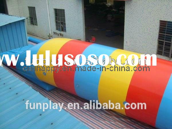 HI 2015 CE certificate best price 0.9mmPVC water blob jump,blob water toy sale,the blob inflatable t