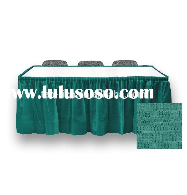 2013 new style top set!!!table skirting designs