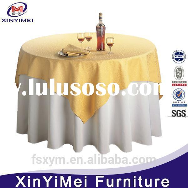 2015 Newest table skirting designs for wedding For Low Sales
