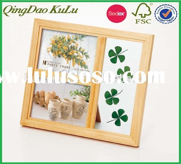 """8"""" unfinished wood picture frame"""