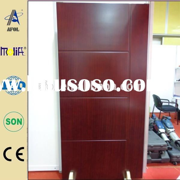 AFOL latest design modern wood door designs,wood door pictures