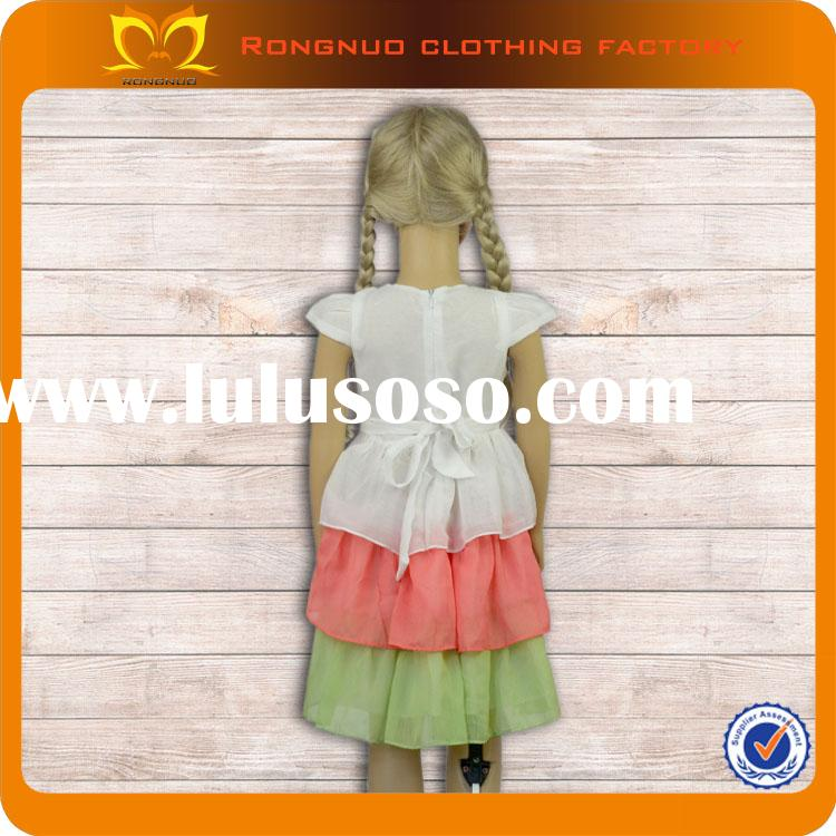 Birthday dress for baby girl 2014 new model wedding dresses Fashion baby frock designs